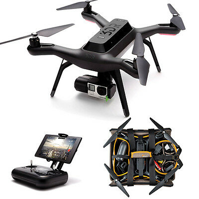 3DR Solo Pro Bundle incl. GoPro Gimbal + Tasche