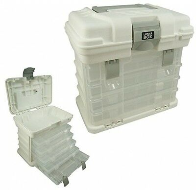 4 Adjustable Compartment Storage Lunar Boxes Organizer Container Carry Case