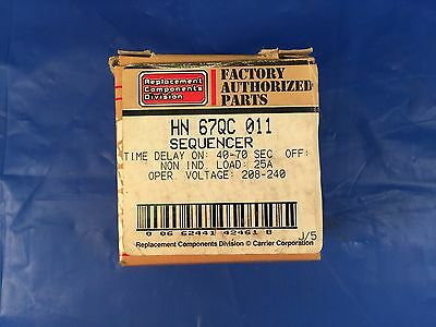 Factory Authorized Parts HN67QC011 Sequencer