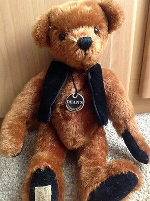 Dean's limited edition bear, Percy number 9 of 500 new with certificate