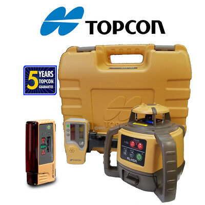 New Topcon RL-H4C DB Rotating Level - DB Package with LS-B10 Added