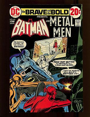 Brave and the Bold #103 VF Cardy Batman Metal Men Doc Magnus