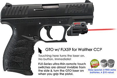 WALTHER LASERSIGHT P22 Red Laser Sight for Weaver Rail w