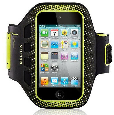 NEW Belkin EaseFit Sport iPod Touch Armband Case / Cover Black F8W019cwC00