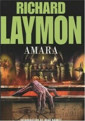 Amara: A chilling and riveting horror novel by Laymon, Richard Hardback Book The