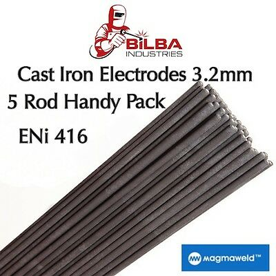 Unimig Magmaweld Cast Iron Electrode ENI-416 3.2MM  5 Rod Handy Pack