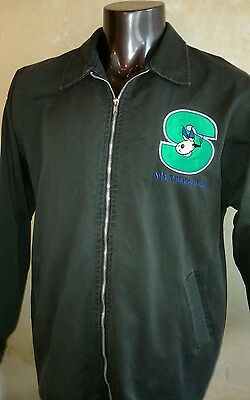 AUTHENTIC VINTAGE SNOOP DOGGY DOGG ROCK EMBASSY JACKET LARGE RARE CIRCA 1990s