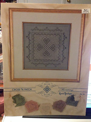 Emie Bishop HEARTSTRINGS Hardanger Pattern Hearts Sampler Retired