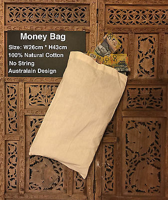 Calico Bags Calico Shoe Bag Calico Lunch Bag School Bag 26cm x 43cm  1-200 bags