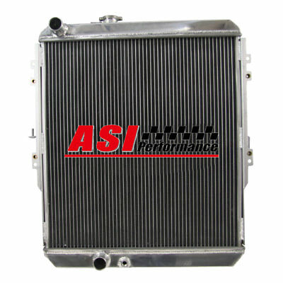 ASI 3ROW Replacement Aluminum Radiator For Ford Hot Rod Chevy 350 V8 Engine 1932