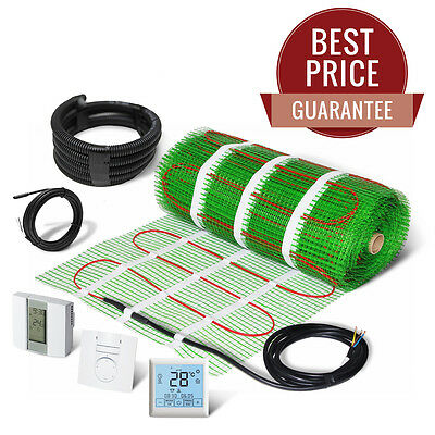 Electric Underfloor Heating Mat Self Adhesive KIT 150W/m2 - LIFETIME GUARANTEE!
