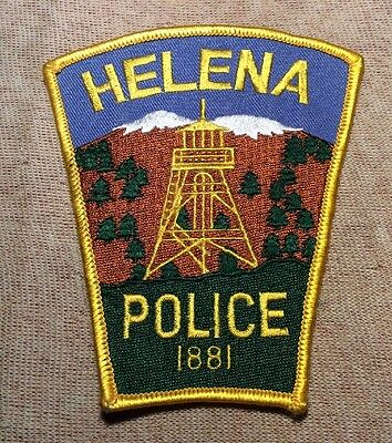 MT Helena Montana Police Patch