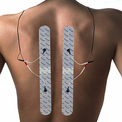 2 extra long electrodes pads for the back for Sanitas & Beurer TENS&EMS machines