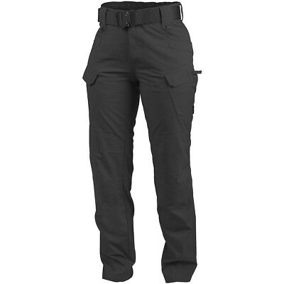 Helikon Women's UTP Pants Tactical Police Security Hiking Cargo Trousers Black