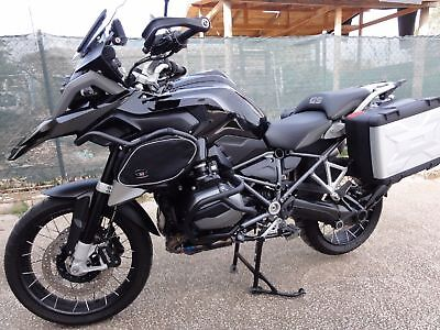 R1200GS LC 2013 Standard engine CRASH BAR bags Touratech luggage bags
