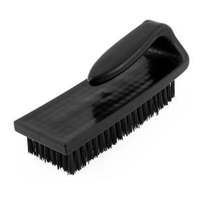 180 x 65 x 70mm Black U Shape Plastic Handle PCB Circuit Board Anti Static Brush