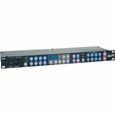 "Elation DMX DUO mint 96-Channel DMX Recorder / Controller 19"" Rackmountable"