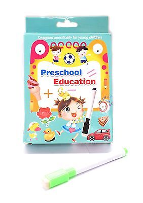 Preschool Maths 36 Pocket Fun Learning Wipe Clean Flash Cards For Kids Children