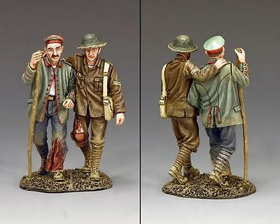 "KING AND COUNTRY WW1 ""BACK FROM THE FRONT"" FW187 military metal 1.30 SCALE"