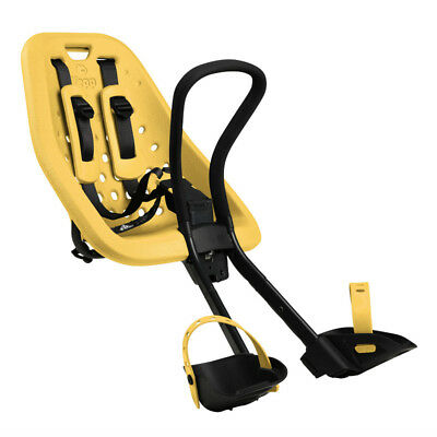 Yepp Mini Bicycle Front Child Seat Yellow Standard Threaded