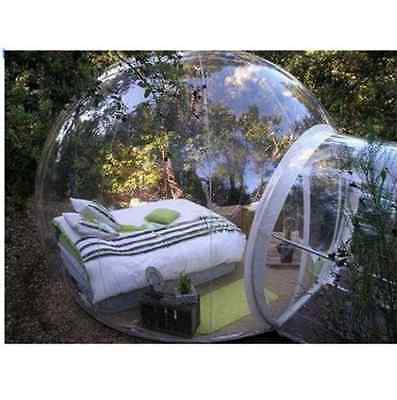 Inflatable Eco Home Tent DIY House Luxury Dome Camping Cabin Lodge Air Bubble