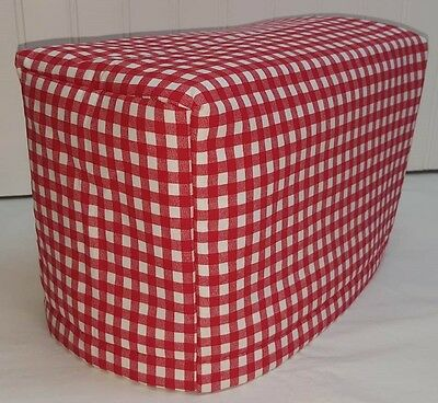 Red & White Checked Toaster Cover
