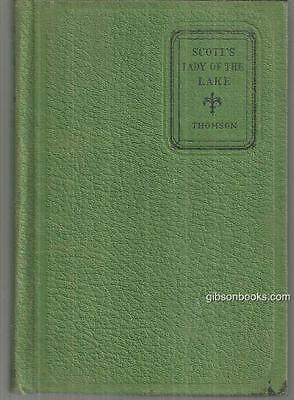Lady in the Lake by Sir Walter Scott 1929 Illustrated Golden Key Series