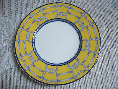 """Coventry Fine Porcelain Palace Garden 6 1/4"""" Saucer Plate Good Condition"""