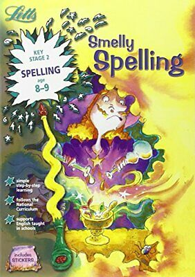 Smelly Spelling Age 8-9 (Letts Magical Skills): Age... by Fidge, Louis Paperback