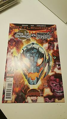 Age Of Ultron Vs. Marvel Zombies #1.   (Nm 9.4)     ~Battleworld 1St Print 2015~
