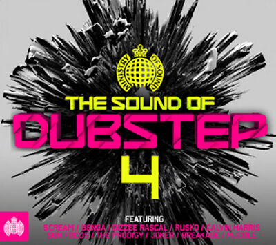 Various Artists : The Sound Of Dubstep 4 CD (2012)***NEW***