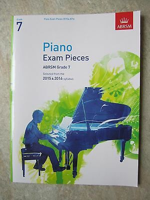 Piano Exam Pieces Grade 7  2015 & 2016 syllabus *Bargain Price* *NEW*
