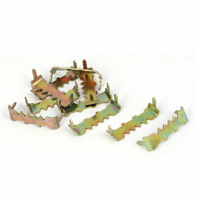 25mm x 7mm x 9mm No Nail Picture Frame Hooks Saw Tooth Sawtooth Hangers 10PCS