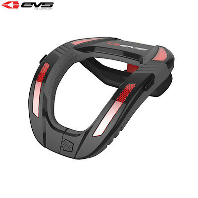Ees R4k Koroyd Motocross Enduro Mtb Neck Protector Support Brace Black Red
