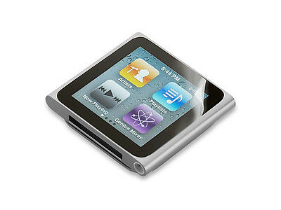 3 X Belkin iPod Nano 6th Generation Clear Transparent Screen Protector/Guard