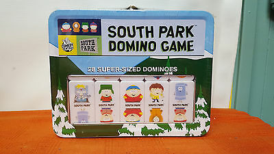 South Park Domino Game - New in Sealed Tin Lunchbox Sababa Toys