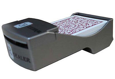 Shuffle Up and Deal Wheel-R-Dealer Automatic Card Dealer Poker Hand Operated *