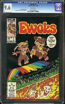 Ewoks #1 CGC 9.6 NM+ Marvel Comics Star Wars Jedi Teebo Rainbow Bridge Kremer