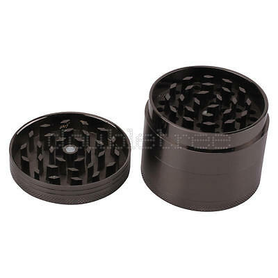 Charm Metal Muller Smoke Tobacco Herb Spice Weed Mini 4 Layers Hand Grinder