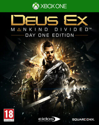 Deus Ex: Mankind Divided: Day One Edition (Xbox One) PEGI 18+ Adventure: Role