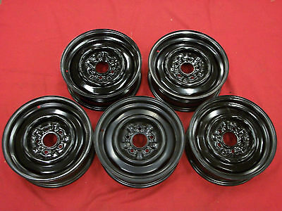 1965-66 Corvette Steel Rims, New