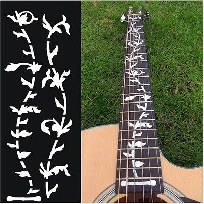 Tree Of Life Guitar Bass Inlay Sticker Fretboard Marker DIY Decal Note New Hot