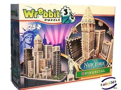 FINANCIAL NEW YORK COLLECTION WREBBIT 3D Puzz SEALED 925pcs NEW PRODUCT puzzle
