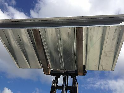 New Galvanised Shipping Container Loading Ramp 7T 2.2M X 1.25M Forklift