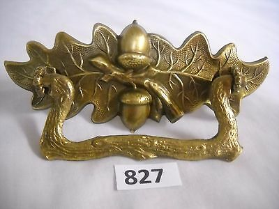 Antique Figural Oak Leaf Accorn Drawer Pull