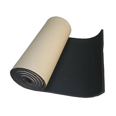 2Roll 10mm Car Auto Sound Proofing Deadening Vehicle Insulation Closed Cell Foam