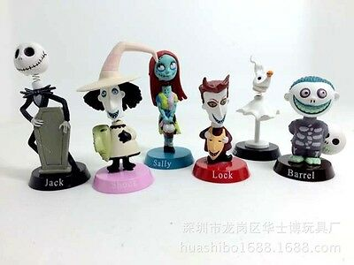 Nightmare Before Christmas Jack and Zero Figure Lovely Gift For Car Decoration