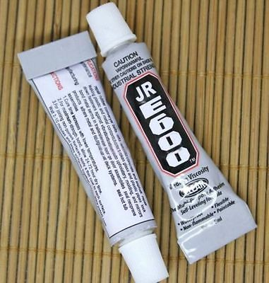 FD4419 E600 5ml Clear Adhesive Glue For Metal Wood Leather Universal 1PC ♫