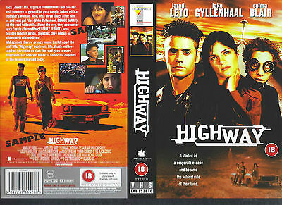 Highway, Jared Leto Video Promo Sample Sleeve/Cover #11653