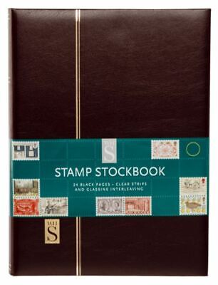 WHSmith Assorted Colour Stamp Stockbook Faux Leather